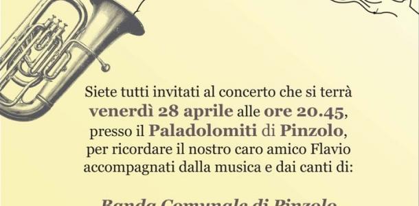 A Pinzolo, FABER...le note che ci uniscono. Banda comunale, Coro Presanella e Croz da la Strìa insieme per ricordare Flavio Maturi