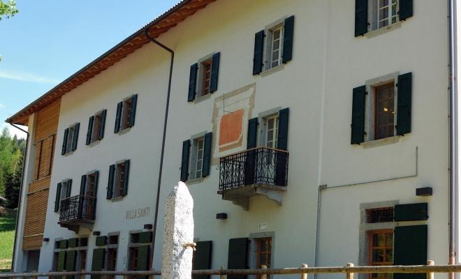 Casa Natura Villa Santi: tra i requisiti  per aggiudicarsi il bando un progetto di gestione in sinergia con il Parco Naturale Adamello Brenta