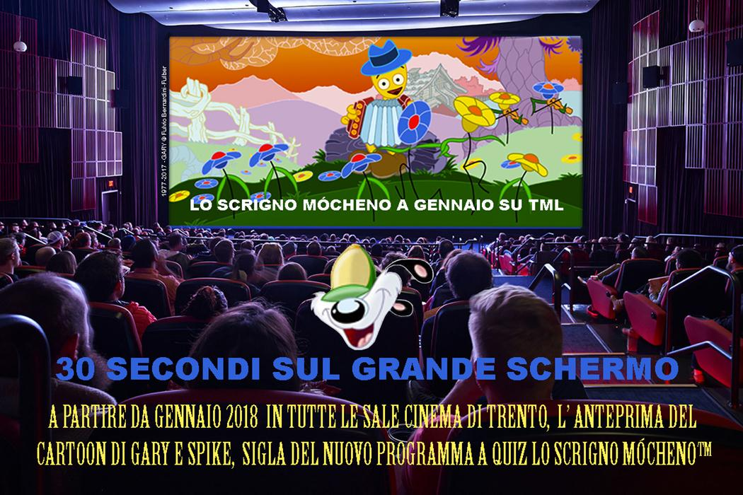 I Cartoons di Fulber in tv e ...al cinema in occasione dei 40 anni di Gary e Spike