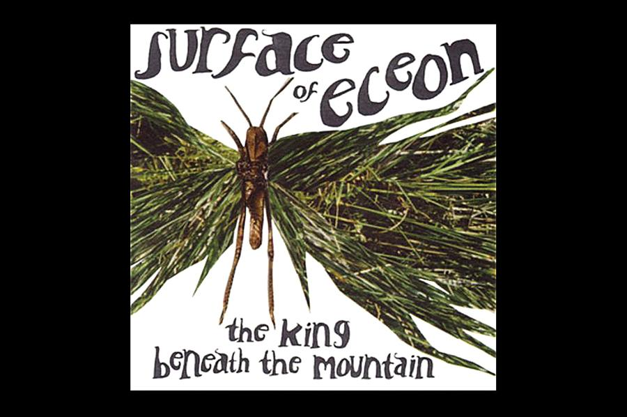 SURFACE OF ECEON. THE KING BENEATH THE MOUNTAIN (2001). Sotto la crosta le traiettorie verdi del suono