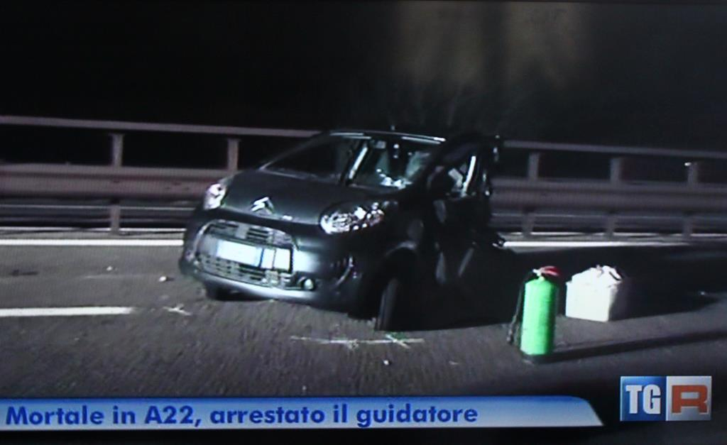 incidente mortale A22