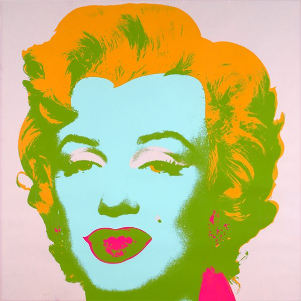 Andy Warhol-Marylin 1967 a bondo