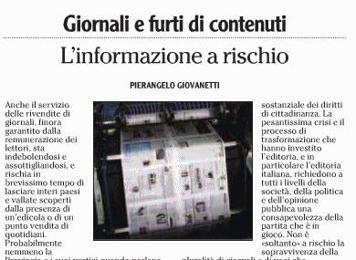 editoriale giovanetti su LAdige